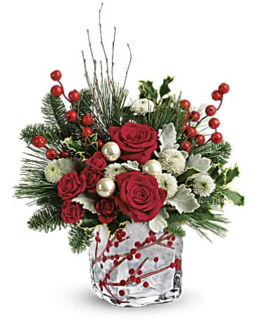 Teleflora\'s Winterberry Kisses Bouquet
