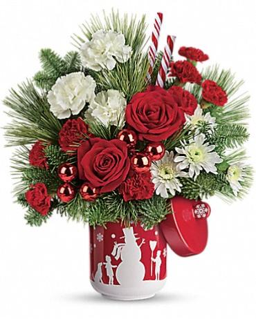 Teleflora\'s Snow Day Bouquet